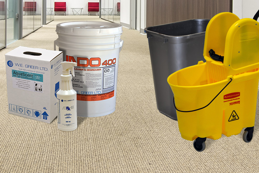 Janitorial Supplies Edmonton | W E  Greer LTD